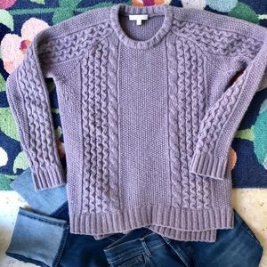 JOAN VASS WOOL SWEATER. EUC SIZE M
